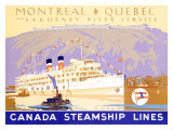 Canada Steamship Lines  Montreal-Quebec