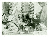 Canton China Opium Den