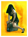 Pin-Up Girl: Suitcase