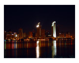 Downtown  San Diego at night 1