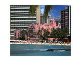 "Royal Hawaiian or ""Pink Palace"" Hotel  Waikiki Beach"