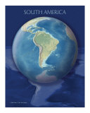 South America view of Earth