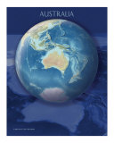 Australia view of Earth