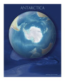 Antarctica view of Earth