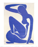 Blue Nude I, c.1952 Reproduction d'art par Henri Matisse