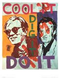 Untitled   Heavy Burschi with Warhol  c1989-90