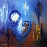 Icon of Love IV Reproduction d'art par Roula Ayoub