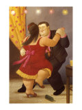 Danseuse Reproduction d'art par Fernando Botero