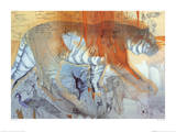 Tiger Notebook Reproduction d'art par Keith Joubert