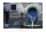 Blue Alcove  Orvieto  Italy