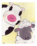 Peak-a-Boo Pals -Cow & Sheep