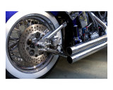 Bikes & Chrome: Motorcycle brake and exhaust