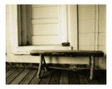 Vintage Log Bench