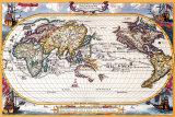 Antique Map  Navigation Map  1710