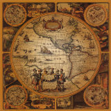 Antique Map  Cartographica II