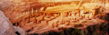 Ruins  Cliff Palace  Mesa Verde  Colorado  USA