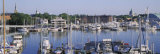 View of Yachts in a Bay  Annapolis MD Naval Academy and Marina  Annapolis  USA