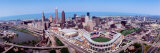 Aerial View of Jacobs Field  Cleveland  Ohio  USA