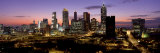 Skyline at Dusk  Cityscape  Skyline  City  Atlanta  Georgia  USA