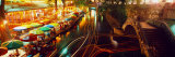 Night  Evening  Nightlife  Riverwalk  San Antonio  Texas  USA
