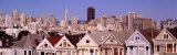 High Angle View of Houses  San Francisco  California  USA