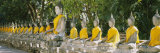Statues of Buddha in a Temple  Wat Yai Chai Ya Mongkhon  Ayuthaya  Thailand
