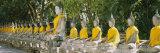 Statues of Buddha in a Temple  Wat Yai Chai Ya Mongkhon  Ayuthaya  Thailand