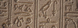 Close-up of a Hieroglyphics  Philae Island  Aswan  Egypt