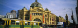 Facade of a Building  Flinders Street Station  Melbourne  Victoria  Australia