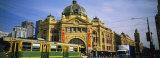 Facade of a Building  Flinders Street Station  Melbourne  Victoria  Australia