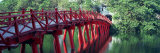 Bridge  Hoan Kiem Lake  Hanoi  Vietnam