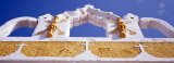 Church Detail  Yellow City  Izamal  Yucatan  Mexico