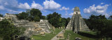Ruins of an Old Temple  Tikal  Guatemala