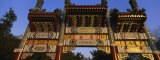 Low Angle View of a Gate  Summer Palace  Beijing  China