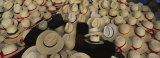 High Angle View of Hats in a Market Stall  San Francisco El Alto  Guatemala