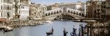 Bridge Over a Canal  Rialto Bridge  Venice  Veneto  Italy