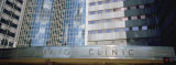Text on a Building  Mayo Clinic  Rochester  Minnesota  USA