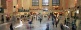 Passengers at a Railroad Station  Grand Central Station  Manhattan  New York City  NY  USA