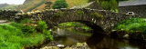 Stone Bridge Over a Canal  Watendlath Bridge  Lake District  Cumbria  England  United Kingdom
