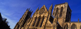 Low Angle View of a Cathedral  York Minster  York  England  United Kingdom