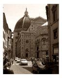 Bustling Firenze - Sepia