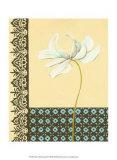 Glazed Tile Botanical I