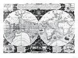 World Map; Vera Totius Expeditionis Nauticae