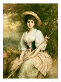 Mrs Stuart M Samuel as Phyllida  the Shepherdess