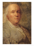 Portrait of Benjamin Franklin circa 1780