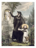 The Cemetery of Pere Lachaise  Printed by Charles Joseph Hullmandel Pub 1822