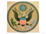 Great Seal of the United States  circa 1850