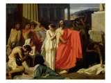Oedipus and Antigone Being Exiled to Thebes  1843