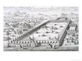 """View of Mecca  from """"Entwurf Einer Historischen Architektur""""  1721"""
