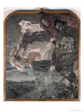 The Flight of Faust and Mephistopheles  1896